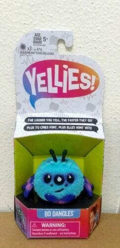 Yellies Mini-Figures Set of 6 Voice Activated Spider Pet BO HARRY PEEKS New!