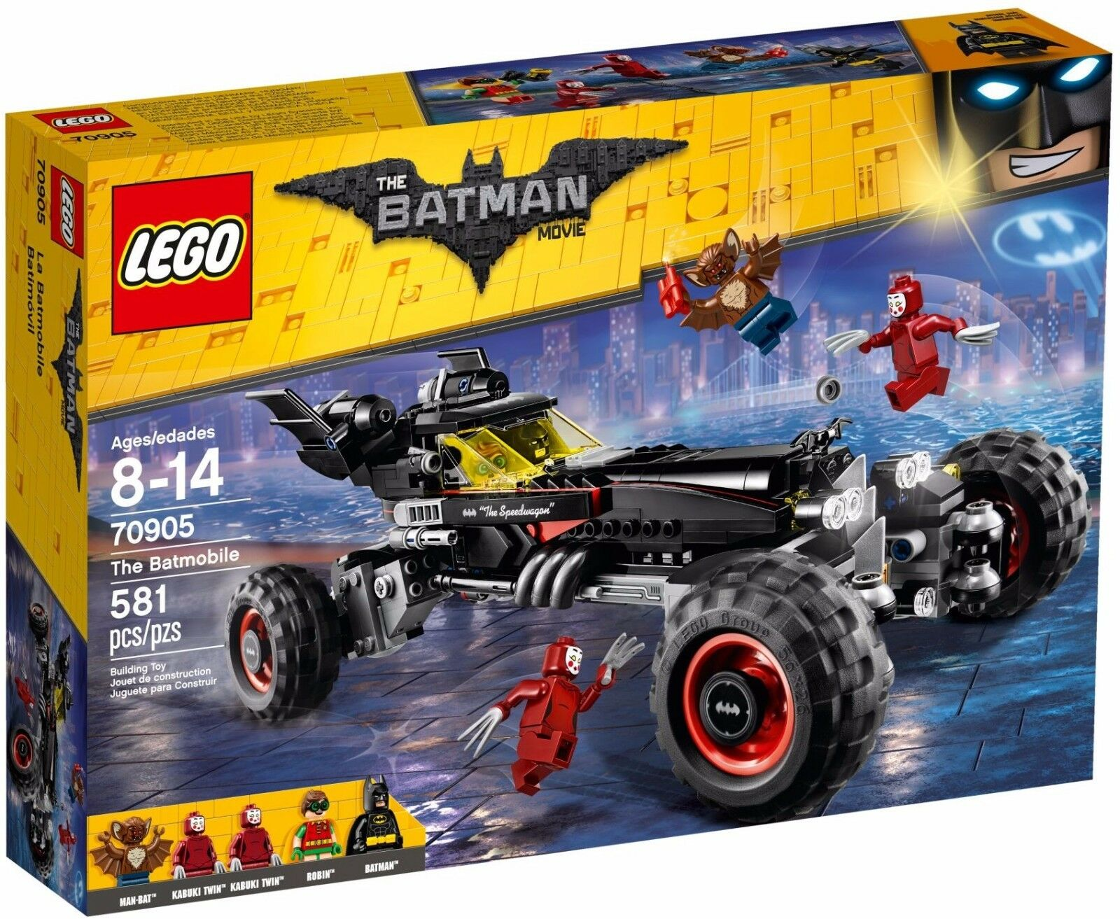The Lego Batman Movie  The Batmobile  70905 - Building Set by LEGO