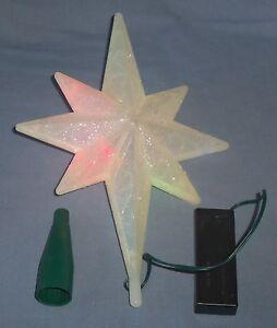 12 Quot Multi Colored Led Changing Light Bethlehem Star