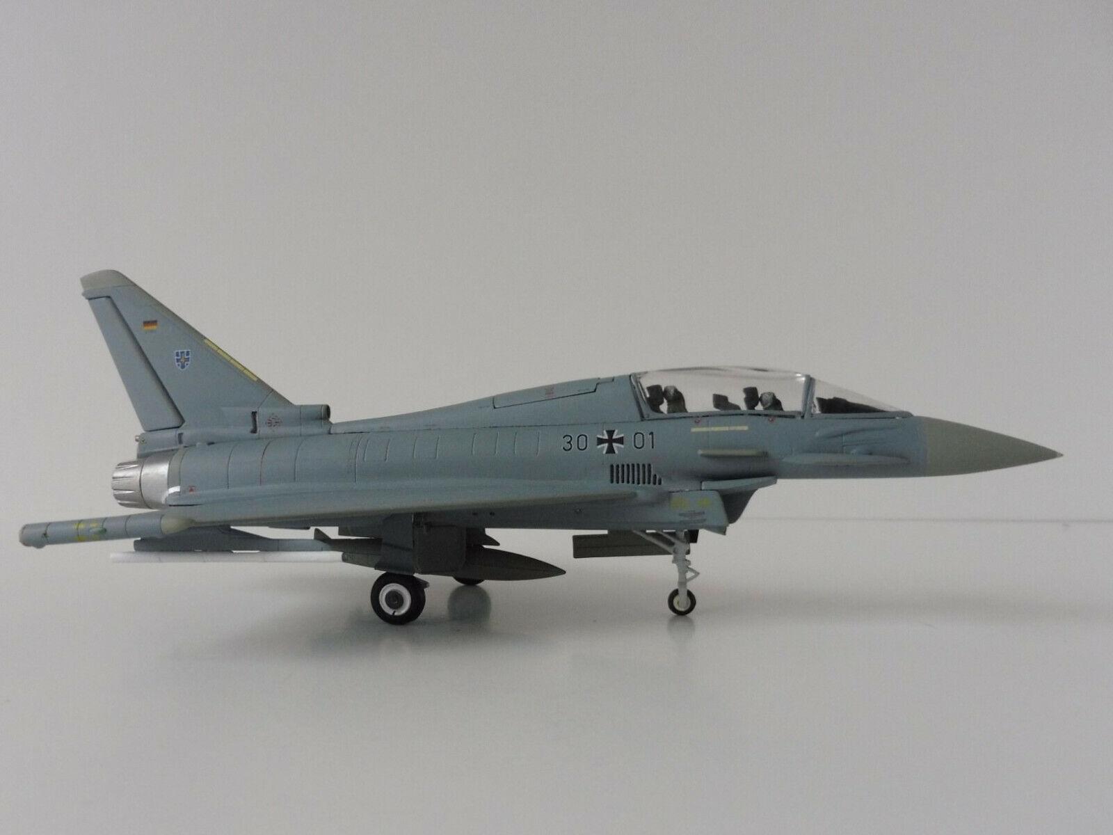 Eurofighter Typhoon Luftwaffe Steinhoff 1  72 Herpa 580397 Bundeswehr Laage