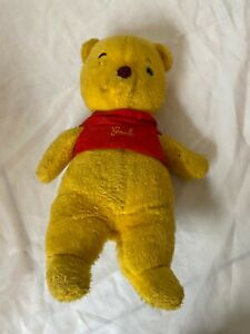 "VTG 60s J. Swedin Gund Winnie The Pooh Plush Walt Disney Plush Stuffed 16"" fixer"