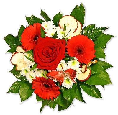 """Blumenversand Blumenstrauß Rote Rose """"kleiner Schatz"""" Keine Kostenlosen Kosten Zu Irgendeinem Preis Pflanzen, Sämereien & Zwiebeln Blumensträuße"""