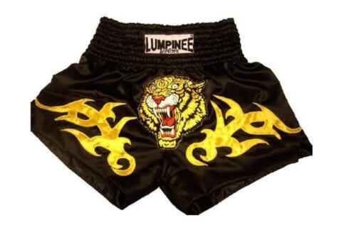 MUAY THAI BOXING Shorts Size M,L,XL,XXL Spacial Price!! BLACK TIGER