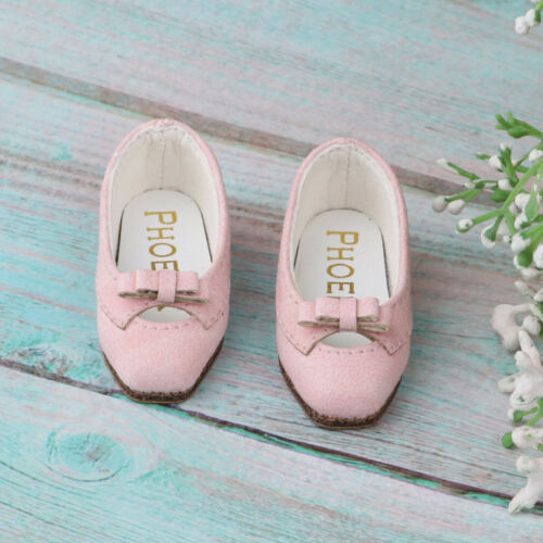 Fashion PU Leather Shoes For 1//6 BJD For Blythe For Momoko Girl Dolls Accs
