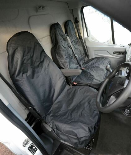 Heavy Duty Waterproof Van Seat Covers Driver /& Bench