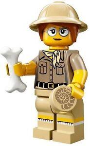 LEGO minifigure serie 13 - PALENTOLOGA -  71008