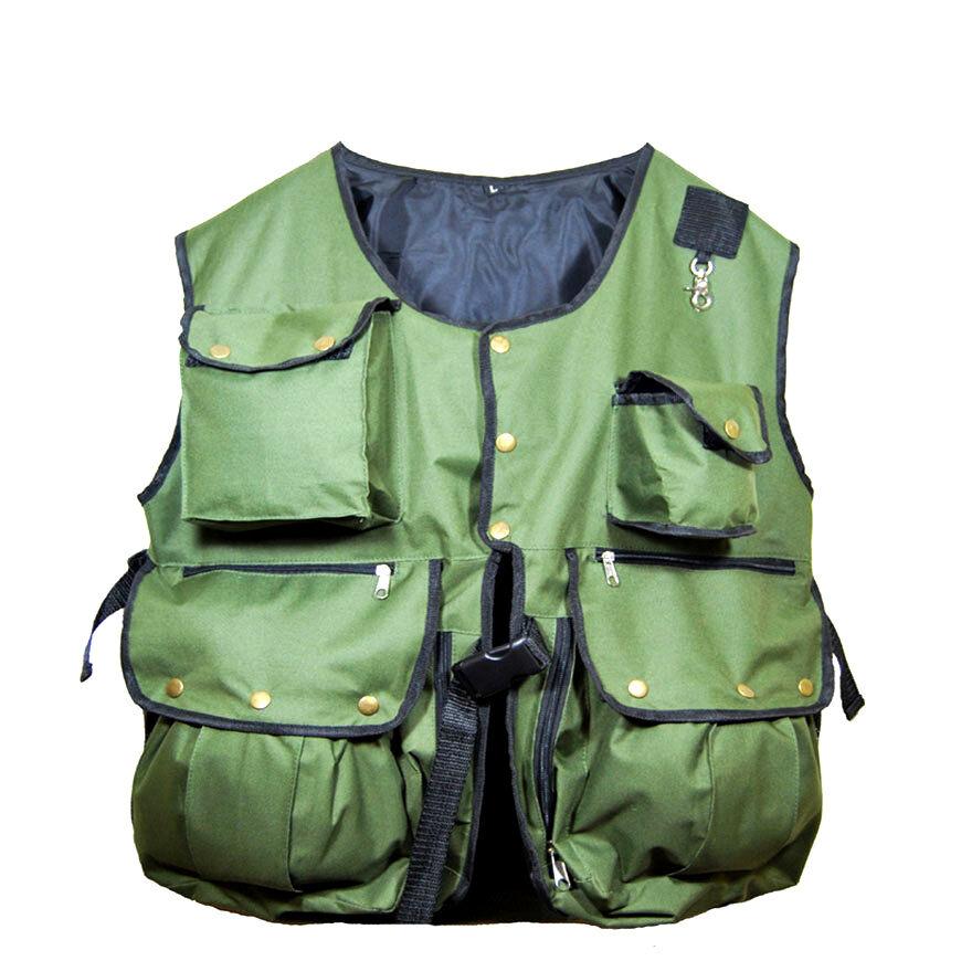 New Falcony and Hunting Waistcoat, Vest Olive Grün, (Alle Größen) Vollständig anpassen
