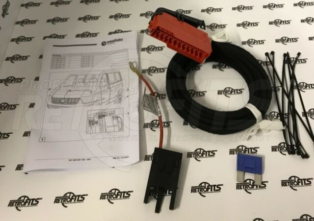 Westfalia Towbar Electrics Extension Kit For VW Transporter T5 03–09 7H0055203A