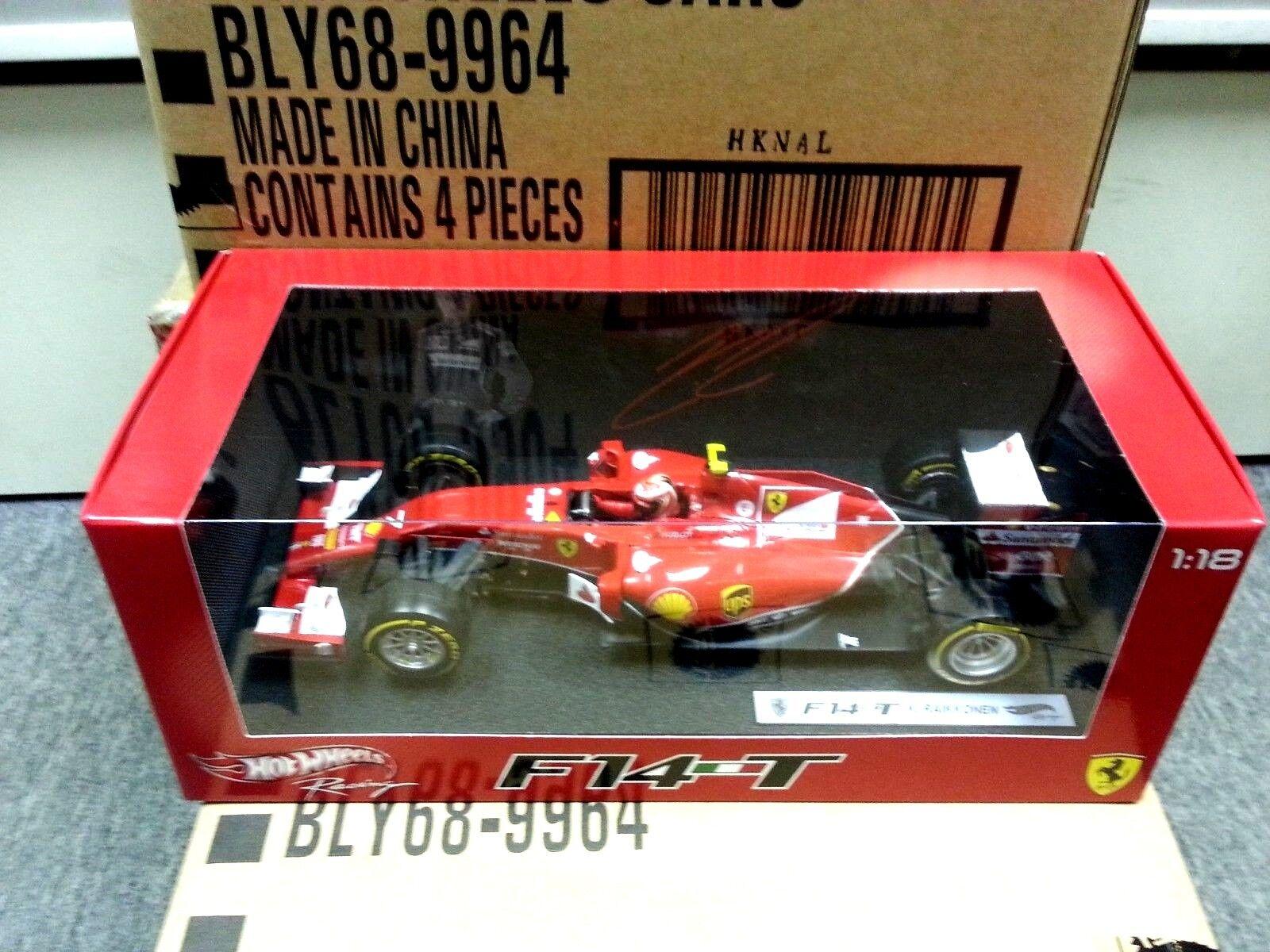 FERRARI F14T F1 GP 2014 Kimi Raikkonen HOTWtalons  1 18  BLY68  grosses soldes