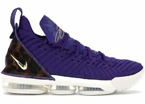 1f8b11276 Nike Lebron 16 XVI King Court Purple Los Angeles Lakers Size 14 ...
