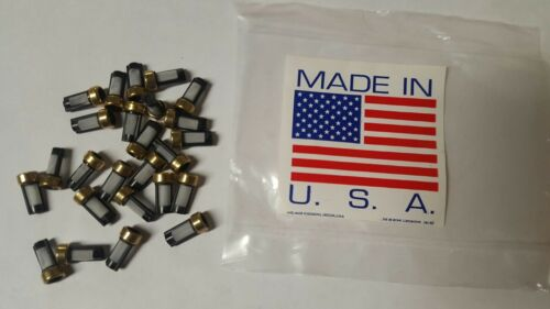 Fuel Injector 12*6*3 Micro Filter Basket 25 of pack Universal  USA Shipped