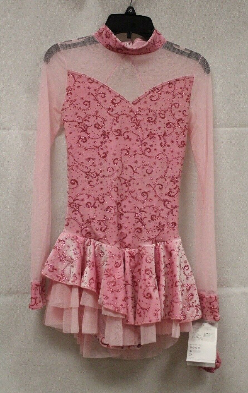 Mondor Model 2768 Ladies Skating Dress - Victoria Pink