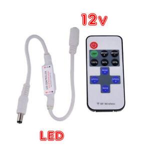TELECOMANDO-DIMMER-RF-WIRELESS-PER-STRIP-LED-12V-CONTROLLER-PER-STRISCIA-LED