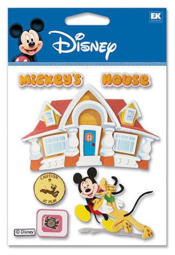 Disney MICKEY/'S HOUSE 3d Scrapbook Stickers