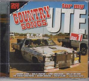 COUNTRY-SONGS-FOR-MY-UTE-VOLUME-1-VARIOUS-ARTISTS-on-2-CDs