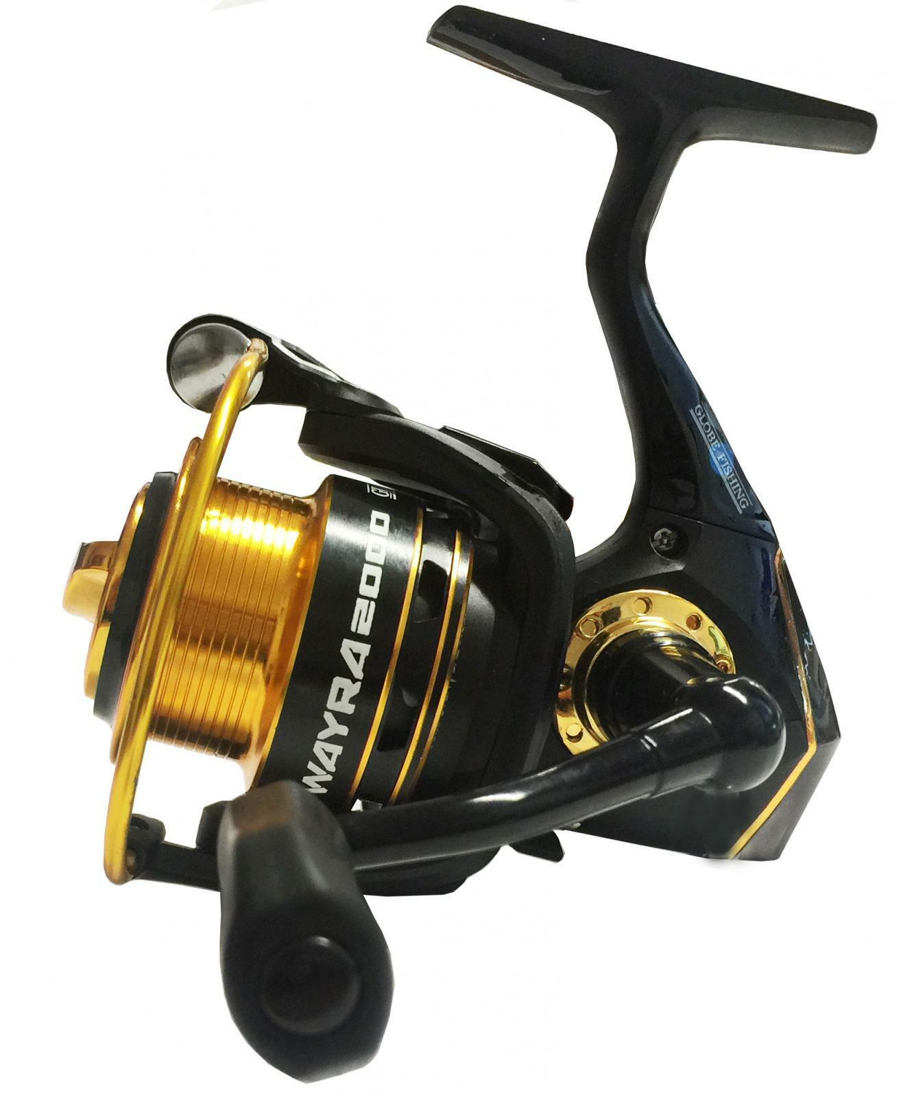 5471000 Mulinello Globe Fishing Wayra 1000 pesca Trout 7 cuscinetti CASG