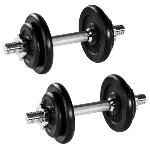 Set d/'haltères courts poids barres disques fitness musculation biceps exercice