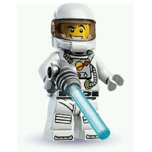 "COLLECTIBLE MINIFIGURE Lego Series 1 /""SPACEMAN/"" Genuine Lego NEW Astronaut  8683"