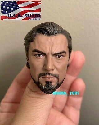 "1//6 Asian Male Head sculpt for 12/"" Figure hot toys worldbox Phicen ganghood❶USA❶"