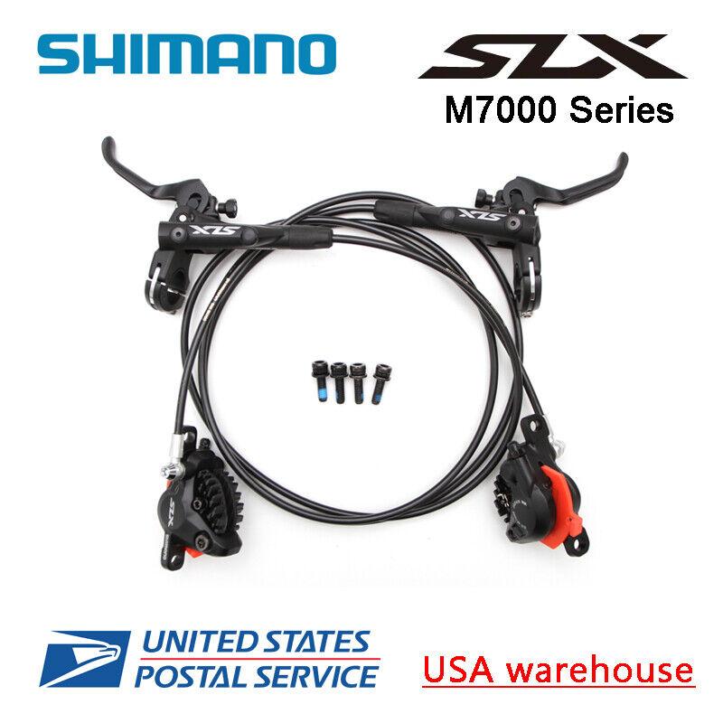 SHIMANO SLX BRBLM7000 Bike MTB Hydraulic Disc Brake Set Front and Rear OE