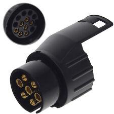 Anhänger Stecker Adapter AHK 7 auf 13 polig pol kurz für PKW KFZ Auto Steckdose