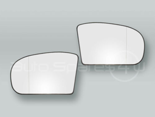 Heated Door Mirror Glass and Backing Plate PAIR fits 2003-2006 MB E-class W211