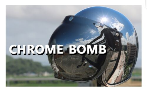 Vintage Motorcycle Helmet Jet Capacetes De Motociclista Harley Sliver Chrome