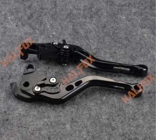 Black Brake Clutch Levers for Yamaha XSR 700 XJR 1200 XT350//600//1200 YS250 XV950