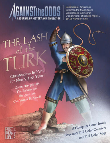 AGAINST THE ODDS THE LASH OF THE TURK BOARD WARGAME