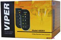Viper 4806V 2-Way Responder LED Remote Start System with Keyless Entry WHITE BOX
