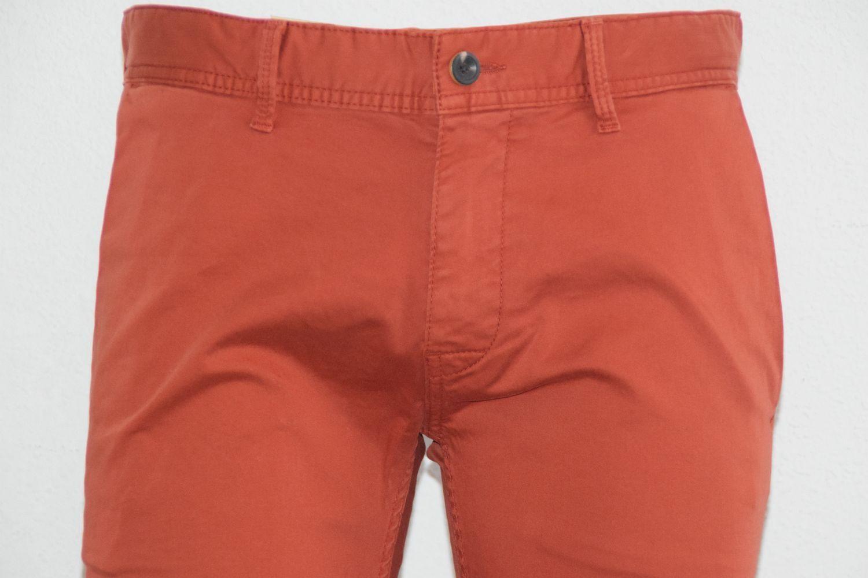 HUGO BOSS Orange HOSE Mod. Schino-Slim1-D Gr. W33   L34 Slim Fit Dark rot