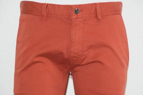 Orange Mod Boss Hose Fit Slim slim1 L34 Schino Dark Hugo Red d Gr W33 5qTf4