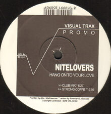 NITELOVERS - Hang On To Your Love - Visual Trax