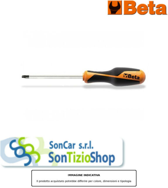 BETA 1267 TX08 Articolo Originale! GIRAVITE LAMA TORX BETAGRIP 3,5X60 TX08