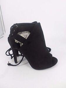 NEW-LOOK-Suedette-Lace-Up-Back-Peep-Toe-Shoes-UK-5-EU-38-LG078-AA-01