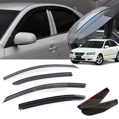 SAFE ABS Acrylic Rear Window Roof Spoiler Visor for 2011~2014 Hyundai Sonata NF