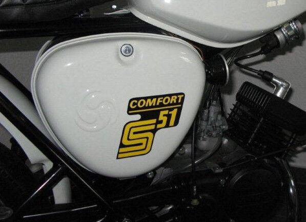 Aufkleber Simson S51 COMFORT