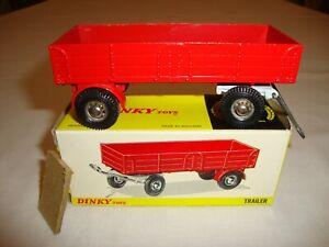 Dinky 428 Large Trailer - Très bien dans sa boîte d'origine