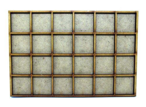 17,1cm x 11,4cm Movement Trays in MDF 6x4 SLOT 25mm