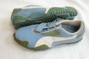 Miscellaneous Puma Mostro Perforated Leather WhiteBlack