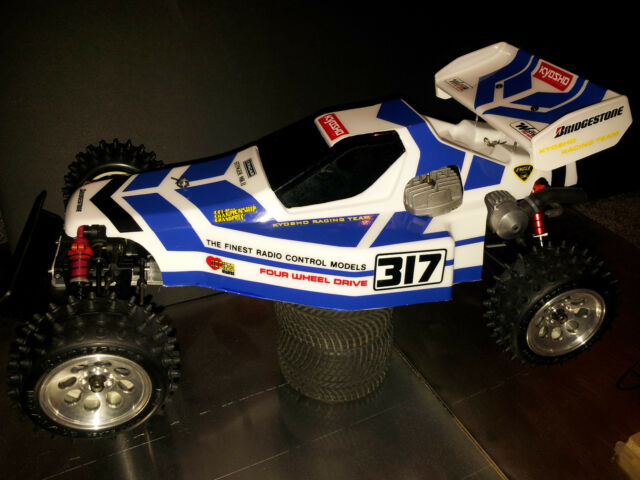 KYOSHO STINGER MKII BODY AND WING