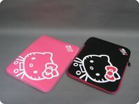 HELLO KITTY CAT 13 inch Laptop sleeve Case Cover bag for Notebook MacBook Tablet