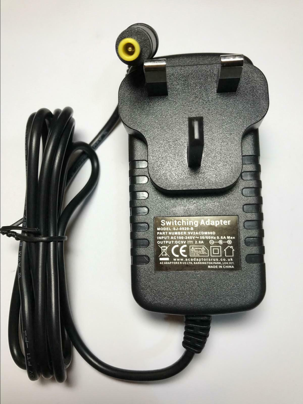 Replacement for 9V 1.8A TESA1-090200 AC-DC Adaptor Power Supply for Dental Inst