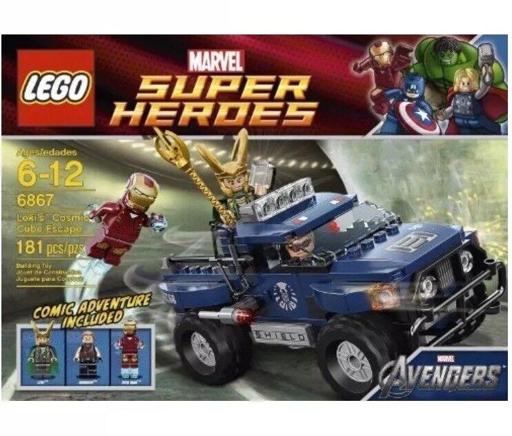 LEGO Loki's Cosmic Cube Escape 6867