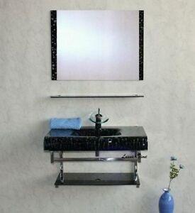 Muebles-de-bano-glaswaschtisch-DEPARTAMENTO-DE-DUCHA-LAVABO-Pieza-Exposicion