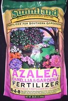 Sunniland Azalea , Camellia And Gardenia Fertilizer 8-4-8 Granules 5 Lbs.