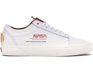 Details about Nasa x Vans Old Skool Space Voyager True White Authentic Size  10 New