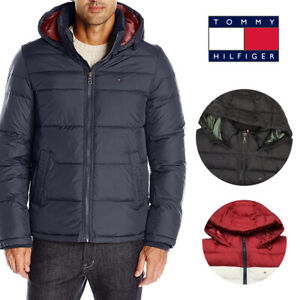 Tommy-Hilfiger-Men-039-s-Ultra-Loft-Insulated-Hooded-Puffer-Jacket-Coat