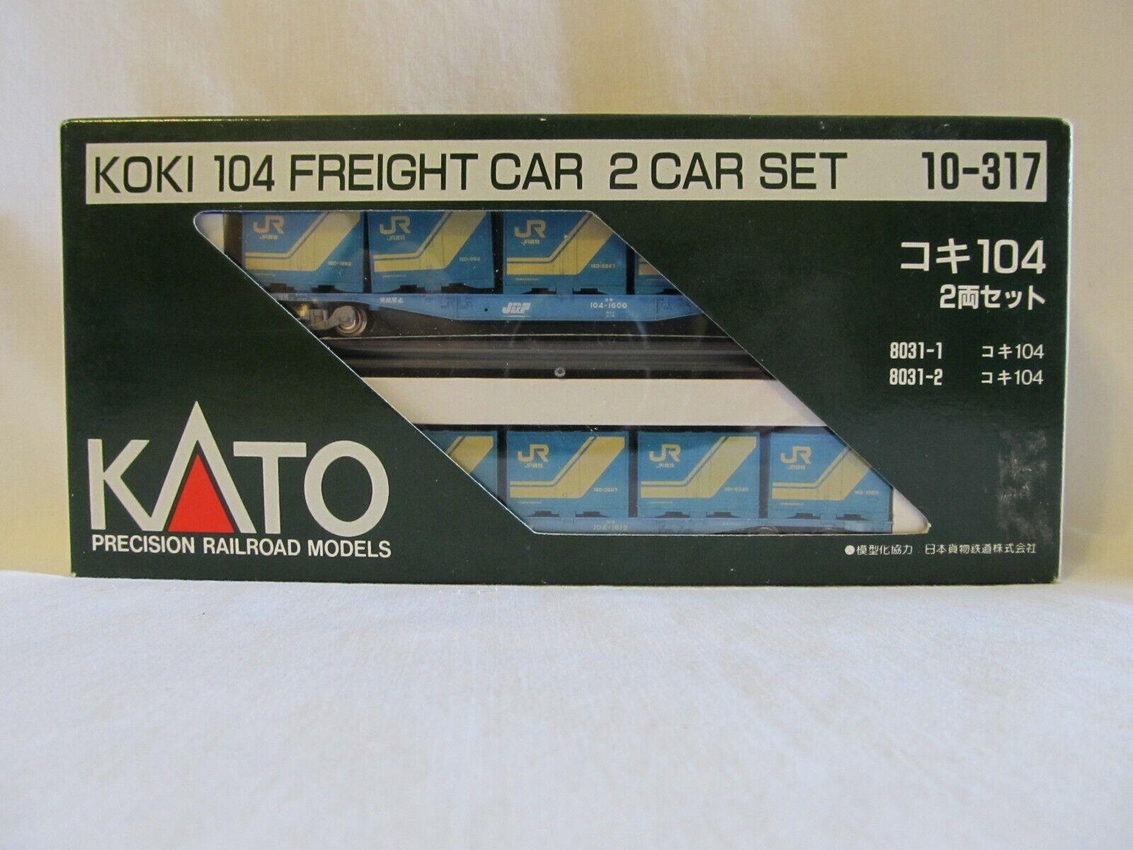 envío rápido en todo el mundo KATO 10-317 KOKI KOKI KOKI 104 FREIGHT Coche 2-Coche SET  ahorra 50% -75% de descuento