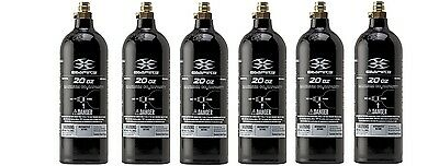 6 PACK NEW Empire Pure Energy 20oz CO2 Paintball Gun ALUMINUM Tanks FREE PRIORIT